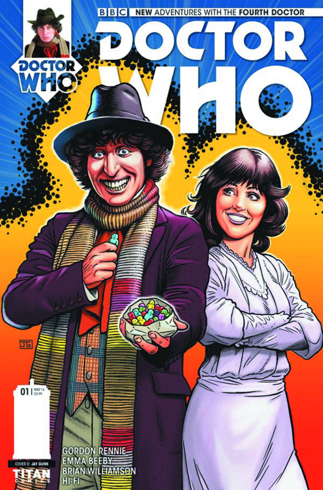 Doctor Who: New Adventures with the Fourth Doctor #1 (10 Copy Cover)