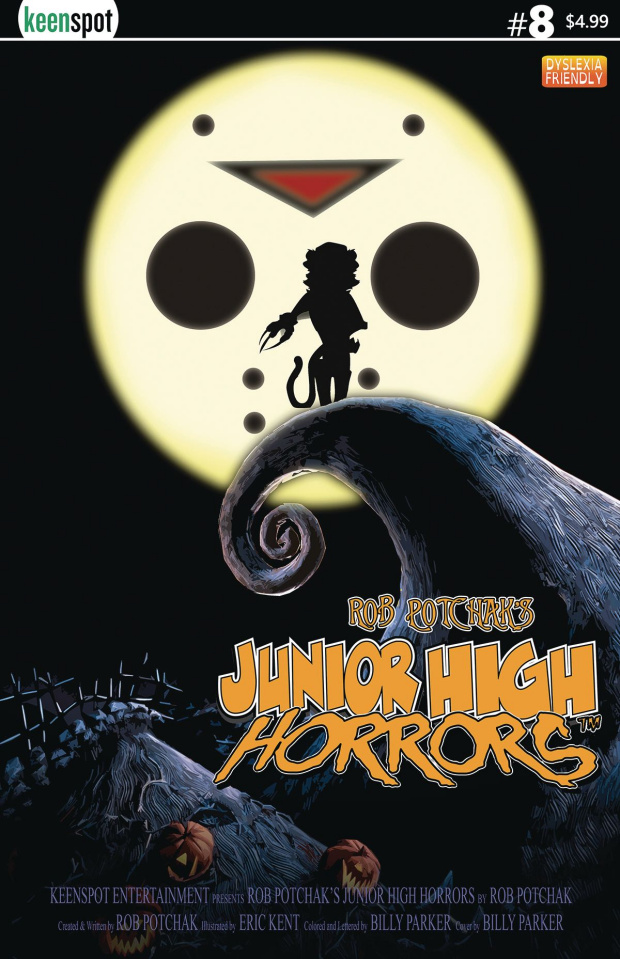 Junior High Horrors #8 (The Nightmare Before Christmas Parody)