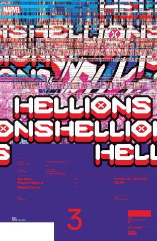 Hellions #3 (Muller Design Cover)