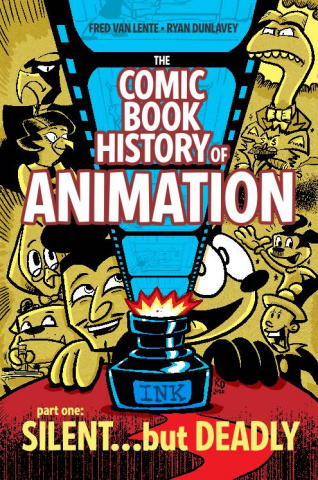 The Comic Book History of Animation #1 (Dunlavey Cover)