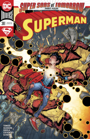 Superman #38 (Sons of Tomorrow Cover)