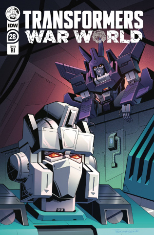 The Transformers #28 (10 Copy Thomas Deer Cover)