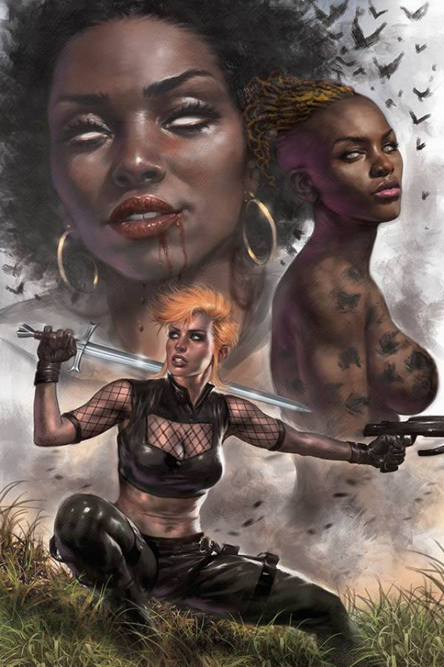 Sacred Six #1 (Parrillo Virgin Cover)