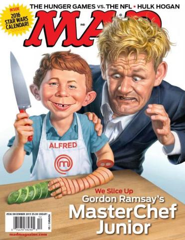 MAD Magazine #536