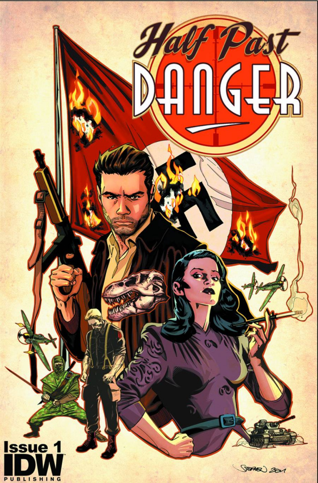 Half Past Danger #1 (2nd Printing)