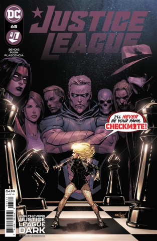 Justice League #65 (David Marquez Cover)