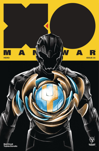 X-O Manowar #25 (Manomivibul Cover)