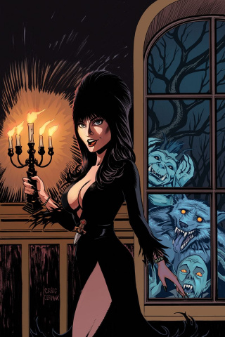 Elvira: Mistress of the Dark #9 (10 Copy Cermak Virgin Cover)