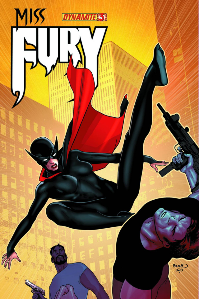 Miss Fury #3 (Renaud Cover)