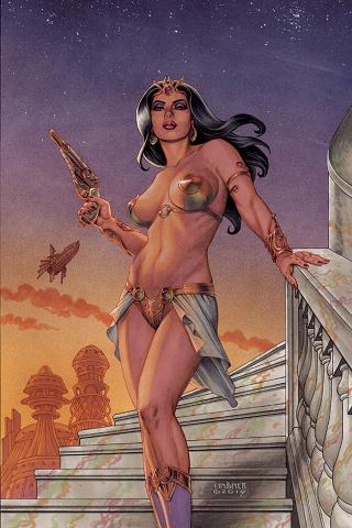 Dejah Thoris #1 (Linsner Virgin Cover)