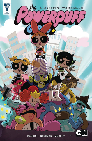 The Powerpuff Girls: Time Tie #1 (10 Copy Cover)