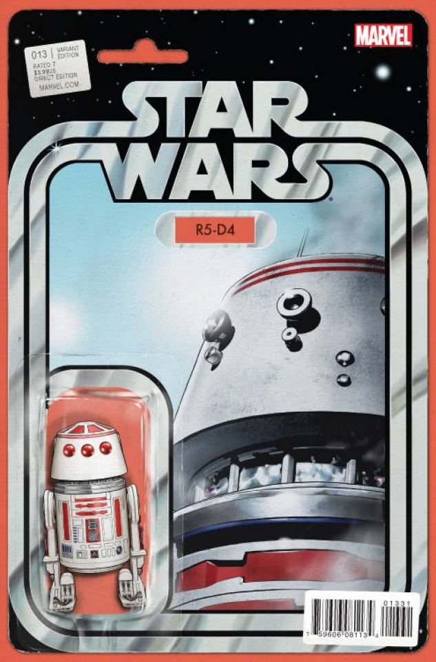 Star Wars #13 (Christopher Action Figure Cover)