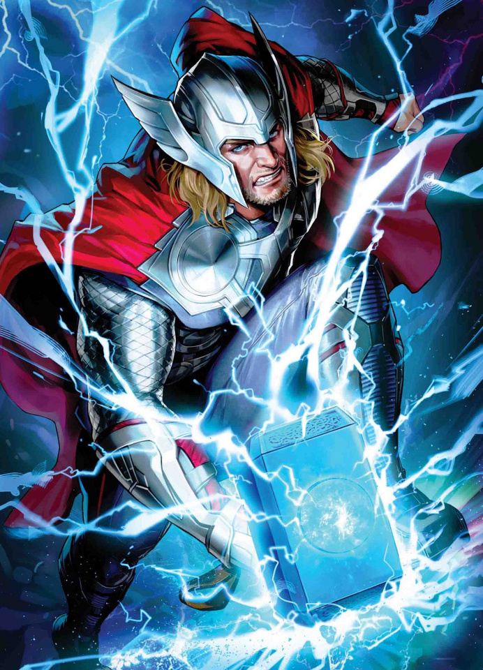 Thor #6 (Maxx Lim Marvel Battle Lines Cover)
