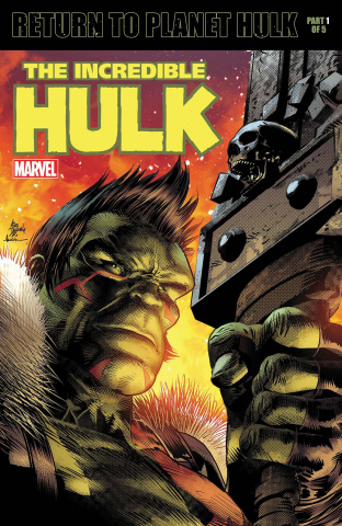 The Incredible Hulk #709 (Deodato Cover)