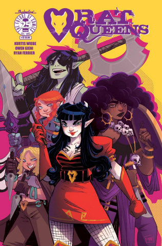 Rat Queens #6 (Boo Cover)