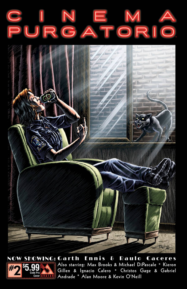 Cinema Purgatorio #2 (Code Pru Cover)
