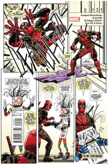 Deadpool #2 (Koblish Secret Comic Cover)
