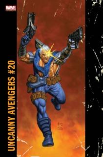 Uncanny Avengers #20 (Jusko Corner Box Cover)