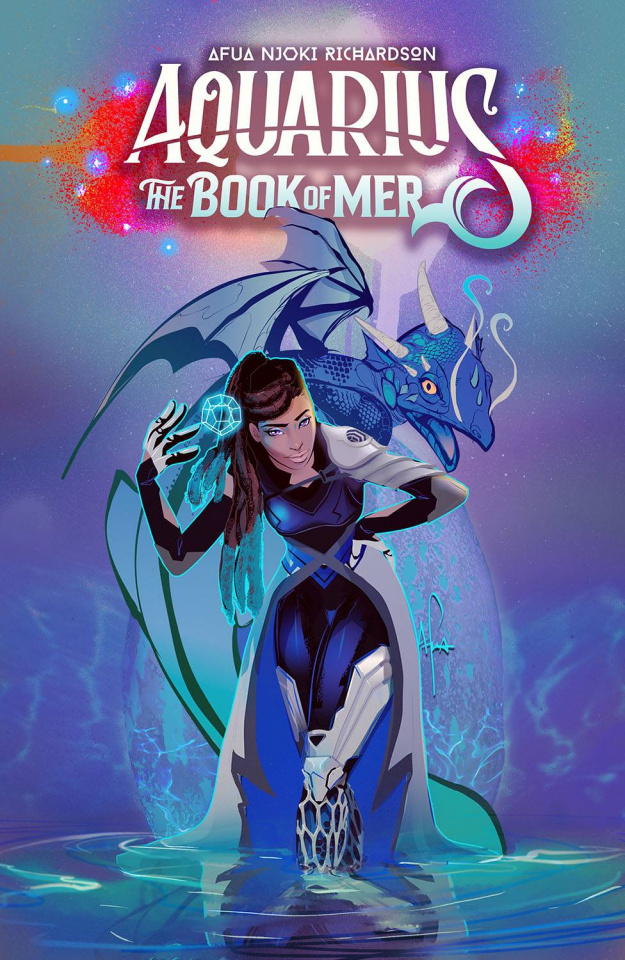 Aquarius: The Book of Mer #1 (Richardson Cover)