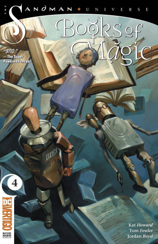 Books of Magic #4
