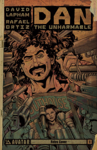 Dan the Unharmable #1 (Retro Cover)