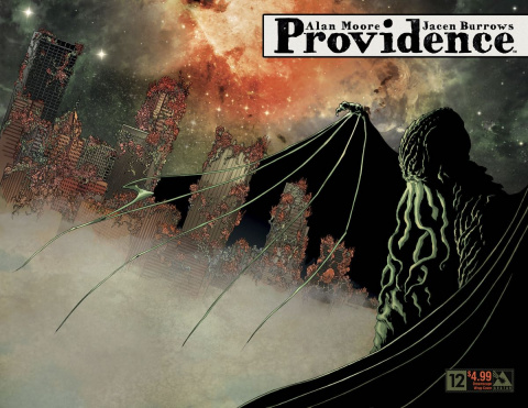 Providence #12 (Dreamscape Wrap Cover)