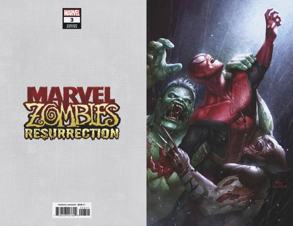 Marvel Zombies: Resurrection #3 (Inhyuk Lee Virgin Cover)