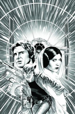 Star Wars #5 (Cassaday Sketch Cover)