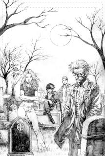 Spirit Hunters #3 (Rei Cover)