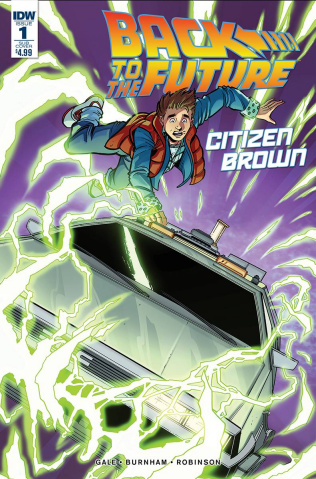 Back to the Future: Citizen Brown #1 (Subscription Cover)