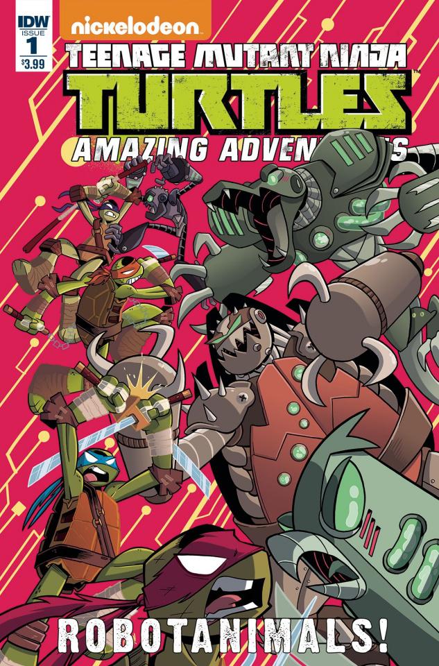 Teenage Mutant Ninja Turtles: Amazing Adventures - Robotanimals #1