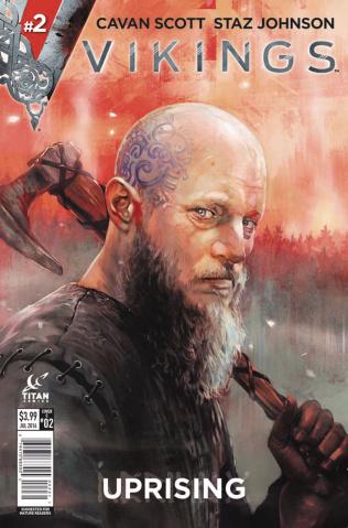 Vikings: Uprising #2 (Caranfa Cover)