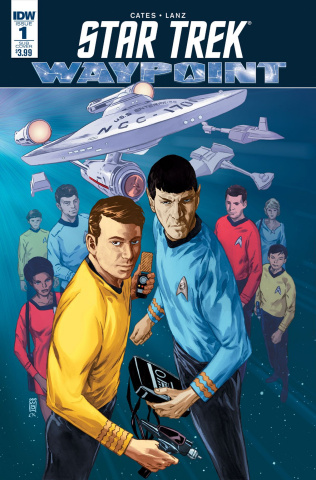 Star Trek: Waypoint #1 (Subscription Cover)