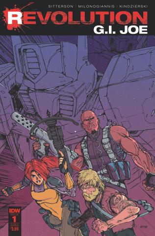 G.I. Joe: Revolution #1 (Subscription Cover)