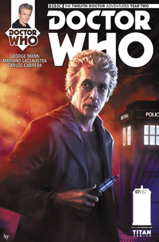 Doctor Who: New Adventures with the Twelfth Doctor, Year Two #7 (Ronald Cover)