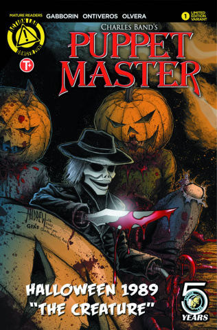 Puppet Master Halloween 1989 Special (Mangum Cover)
