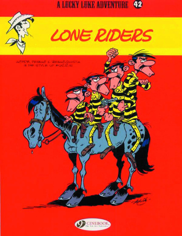 Lucky Luke Vol. 42: Lone Riders