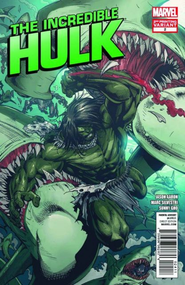 The Incredible Hulk #2 (2nd Printing)