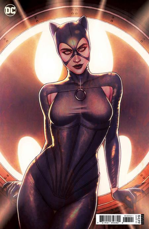Catwoman #38 (Jenny Frison Card Stock Cover)