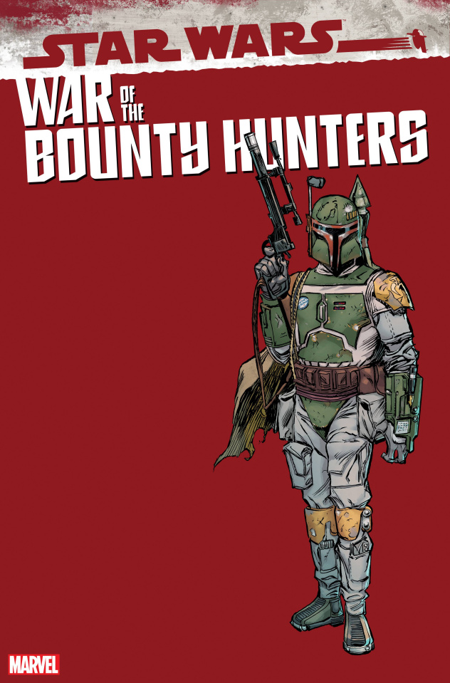 Star Wars: War of the Bounty Hunters #5 (Frenz Handbook Cover)