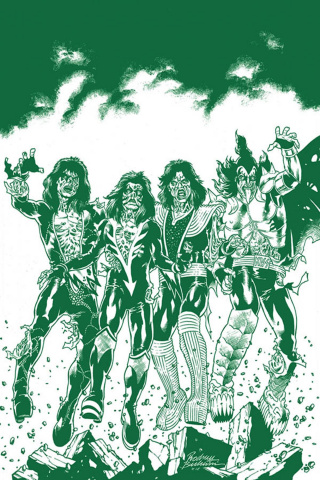 KISS: Zombies #1 (25 Copy Buchemi Virgin Tint Cover)
