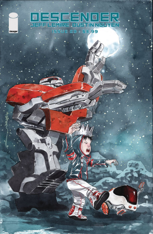 Descender #29 (Li'l Robot Nguyen Cover)