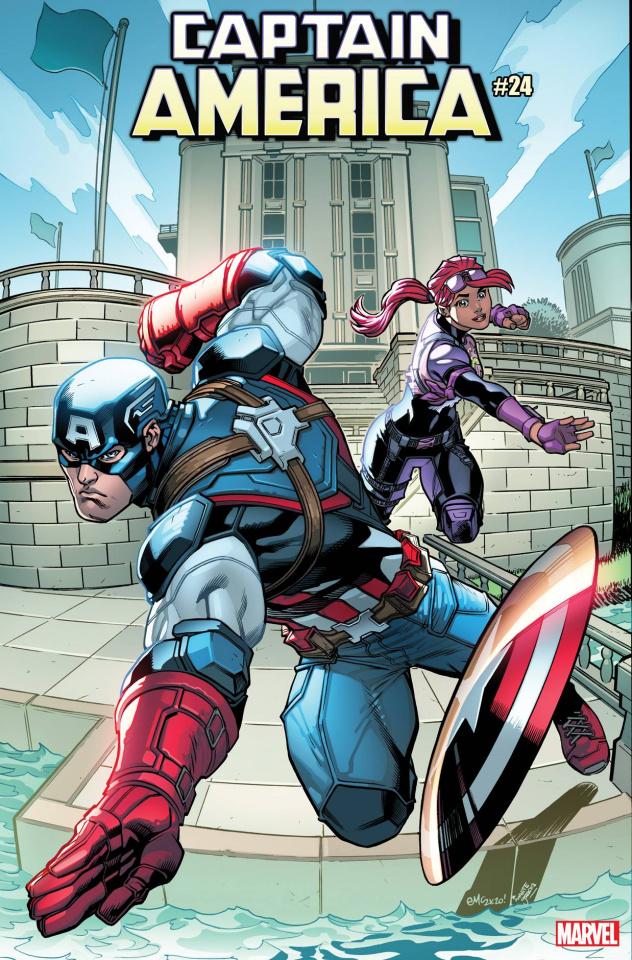 Captain America #24 (McGuinness Fortnite Cover)