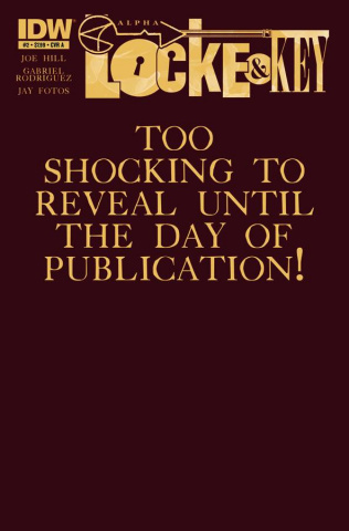 Locke & Key: Alpha #2 (Rodriguez Cover)