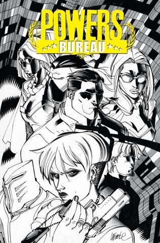 Powers: Bureau #1 (Lafuente Cover)