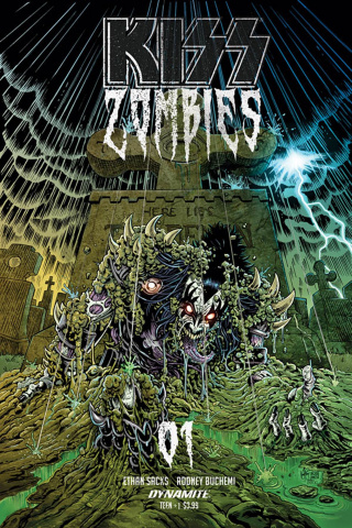 KISS: Zombies #1 (7 Copy Haeser Cover)