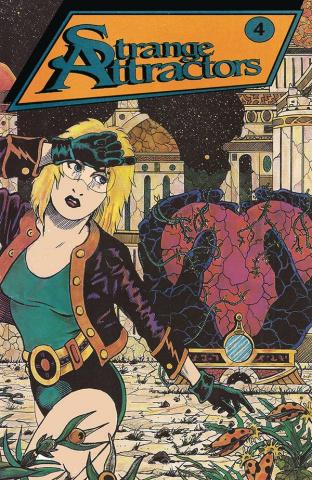 Strange Attractors #4 (Retro Variant Cover)