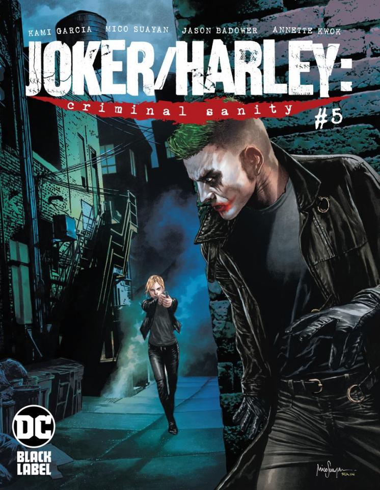 Joker / Harley: Criminal Sanity #5 (Mico Suayan Cover)