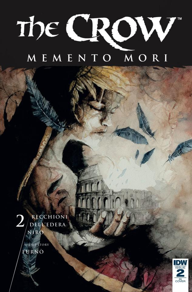 The Crow: Memento Mori #2 (10 Copy Cover)