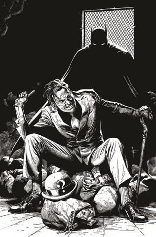 Batman: Black & White #5 (Gary Frank Riddler Cover)